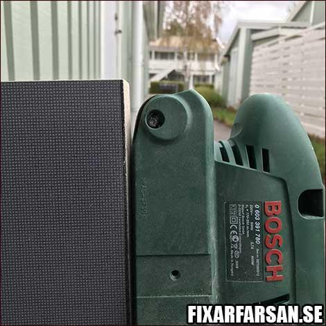 Bosch Slipmaskin Slipa Ner Skrivbord