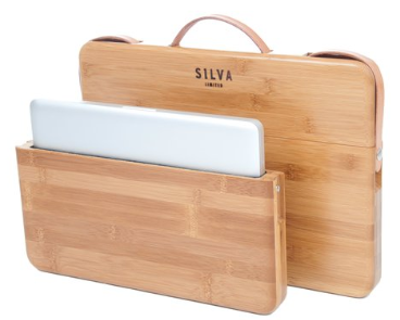 Bamboo Laptop Case from Silva Limited