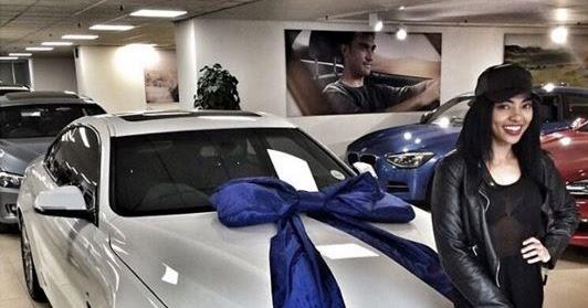 Skeem Saam Actress Amanda Du Pont New Car Bmw 428i Cost
