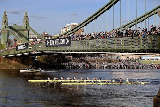 Regata Oxford-Cambridge em Londres