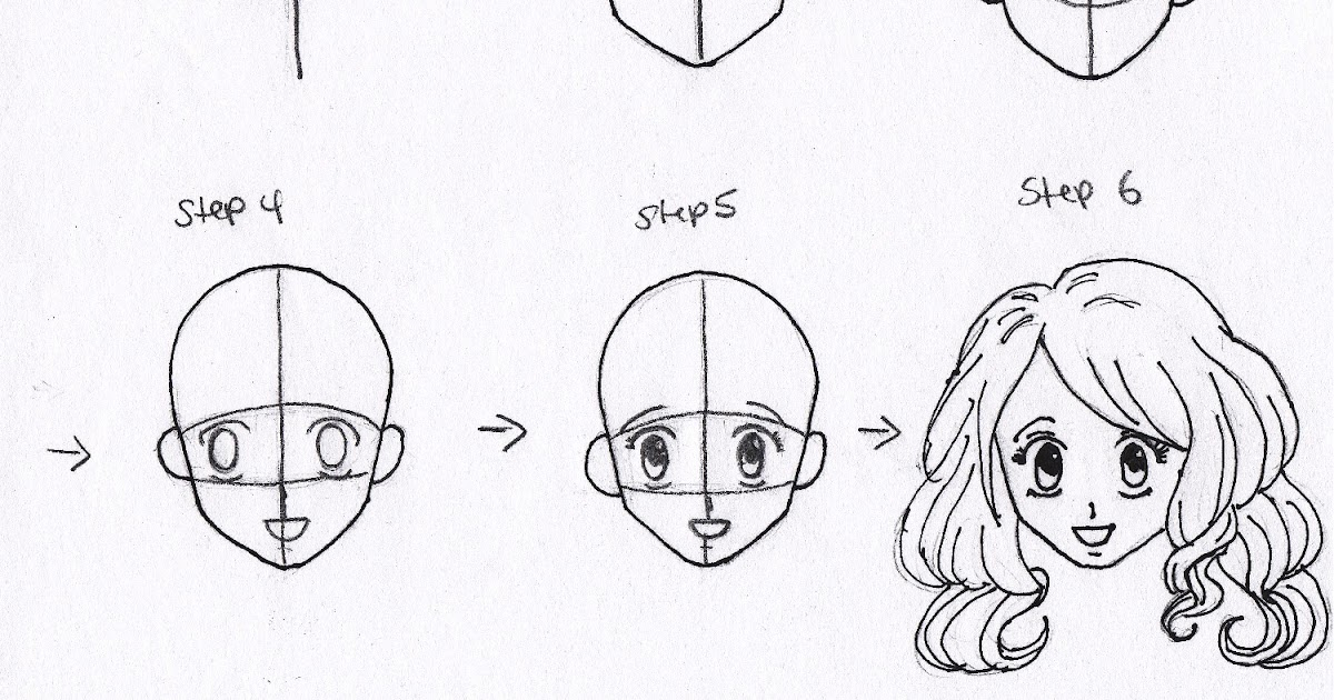 How To Draw Anime Face Easy