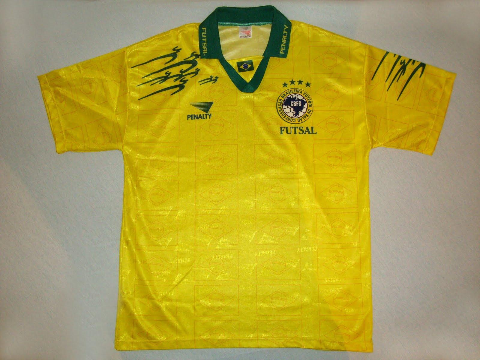 Confederação Brasileira de Futebol de Salão (Brasil) - Show de Camisas 359952859c424