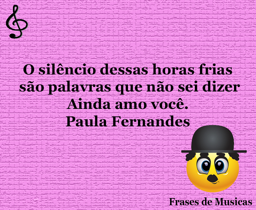 O Silêncio Dessas Horas Frias Frases De Musicas Frase De Musica