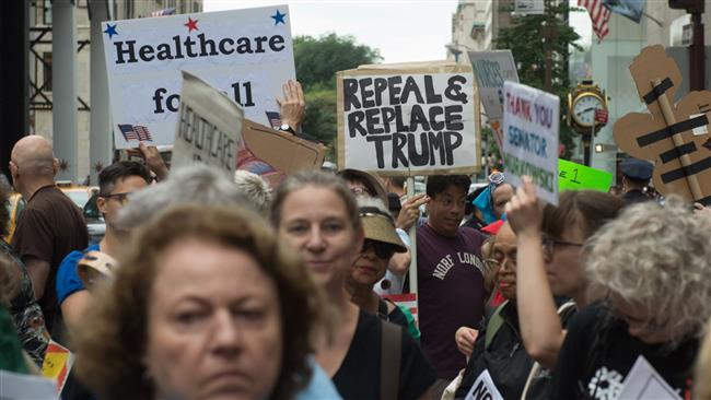 US President Donald Trump threatens to end healthcare payments if Obamacare is not repealed