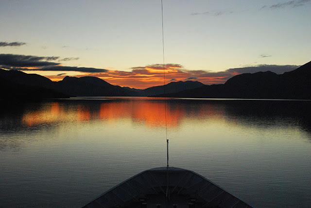 Chilean Fjord Scenery