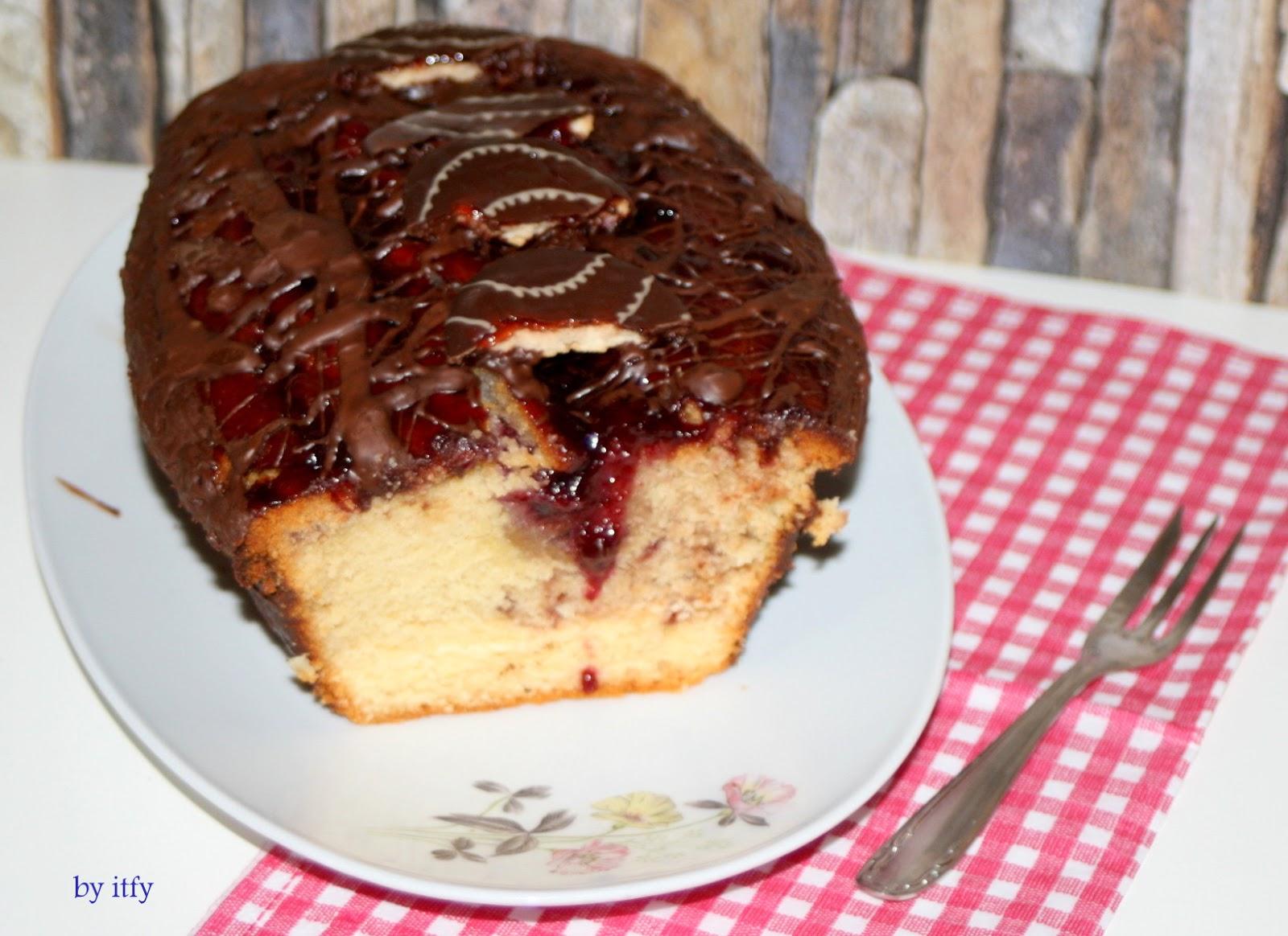 I TEST FOR YOU :-): Sonntagskuchen: Jaffa Kuchen x 2 in Kirsche ...