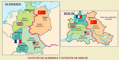 División de Alemania y el muro de Berlín