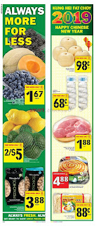 Food Basics Flyer January 24 - 30, 2019