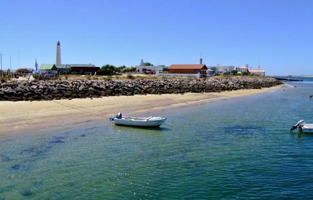 Ilha da Culatra em Faro