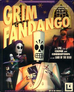 Portada original videojuego Grim Fandango