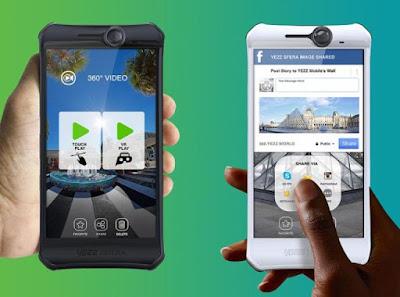 Smartphone 360 camera Onboard