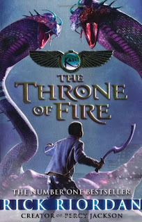 The Throne of Fire by Rick Riordan PDF Book Download