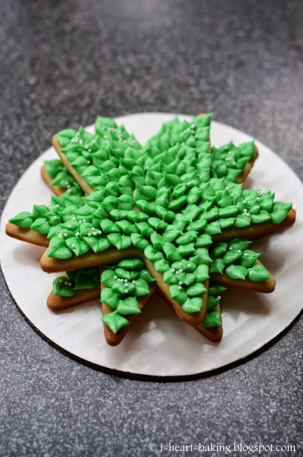 i heart baking!: 3D cookie christmas tree