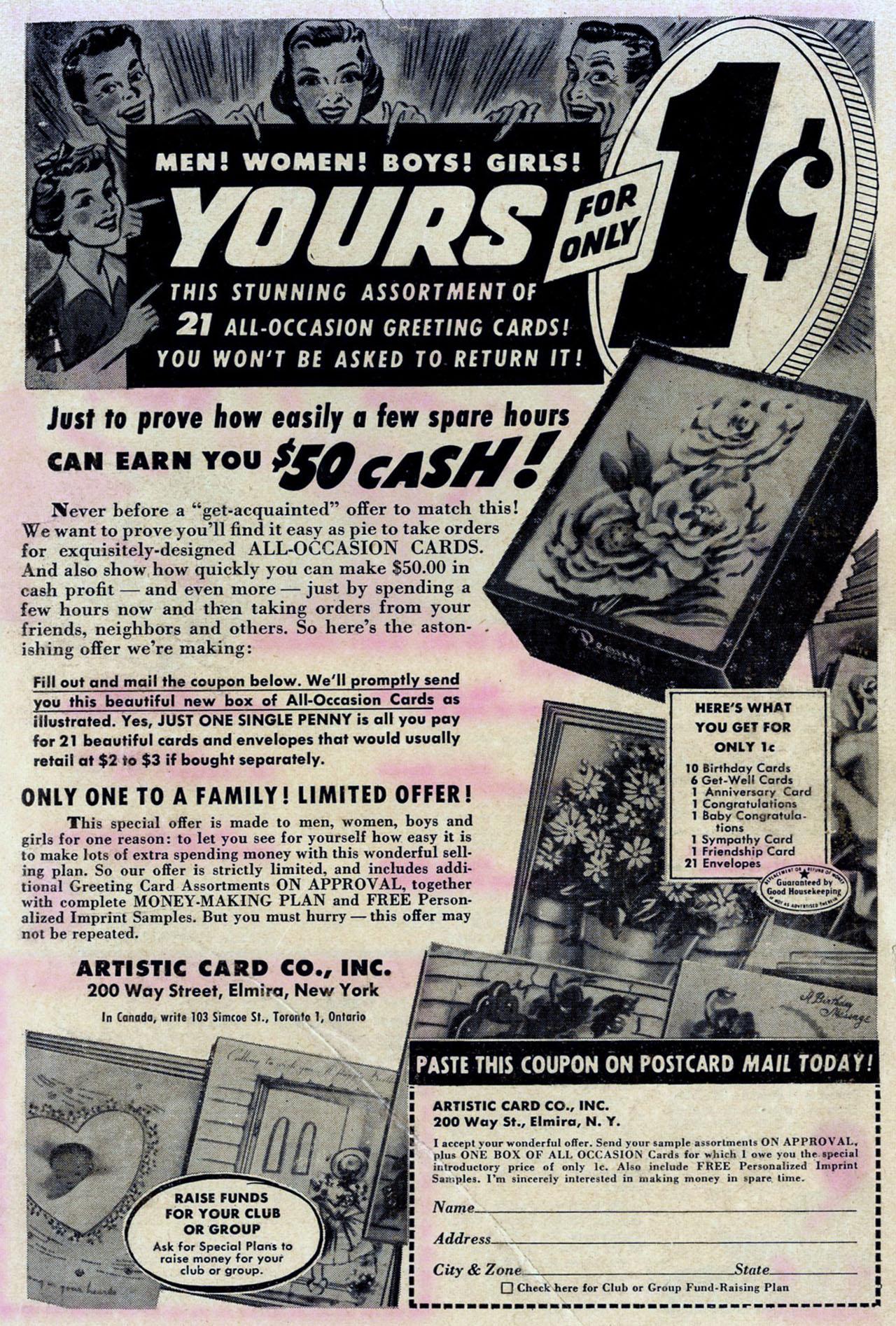 Read online Detective Comics (1937) comic -  Issue #205 - 43