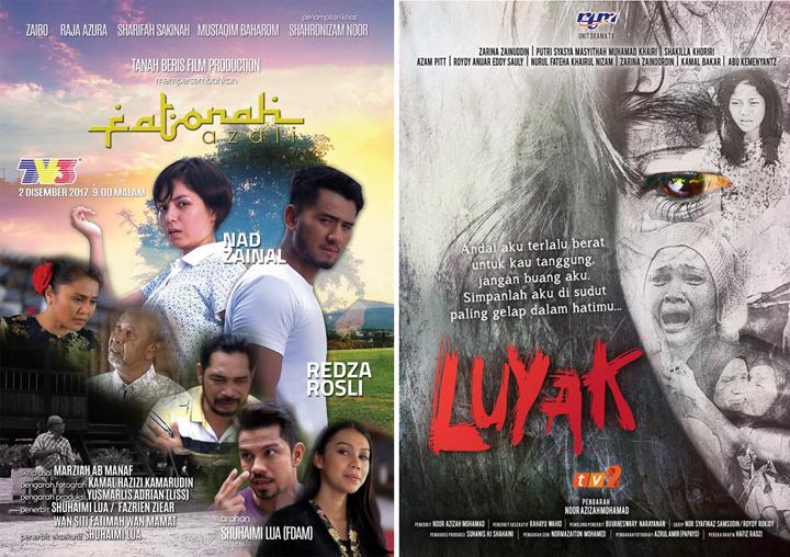 Senarai Calon Drama Terbaik Anugerah Skrin 2018