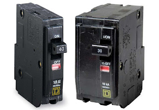 Instalaciones eléctricas residenciales - Interruptores termomagnéticos QO