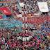 Χιλιάδες κόσμου στην Ταραγόνα για το εντυπωσιακό «φεστιβάλ των ανθρώπινων πύργων» (video)