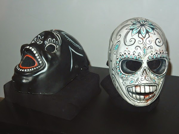Savages Day of the Dead movie masks