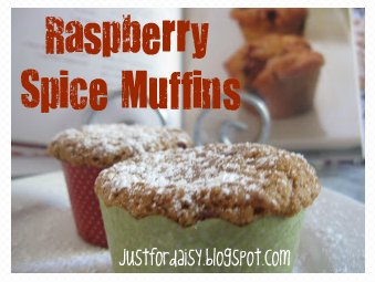 Just For Daisy :: Raspberry Spice Muffins