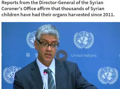 La ONU lo sabe y calla: 18.000 NIÑOS REFUGIADOS SIRIOS despedazados para TRÁFICO DE ÓRGANOS ¿HASTA CUÁNDO?