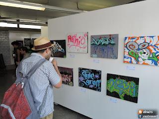 cuadros de grafffiti