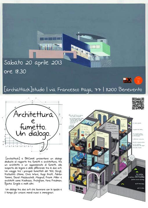 Archiattack blog architettura e fumetto un dialogo for Blog architettura