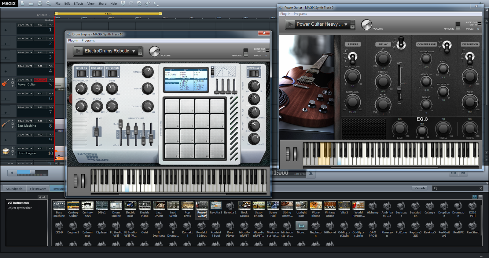maker music magix premium making instruments synapse software drum guitar engine power circuit many virtual professional above very technology exciting