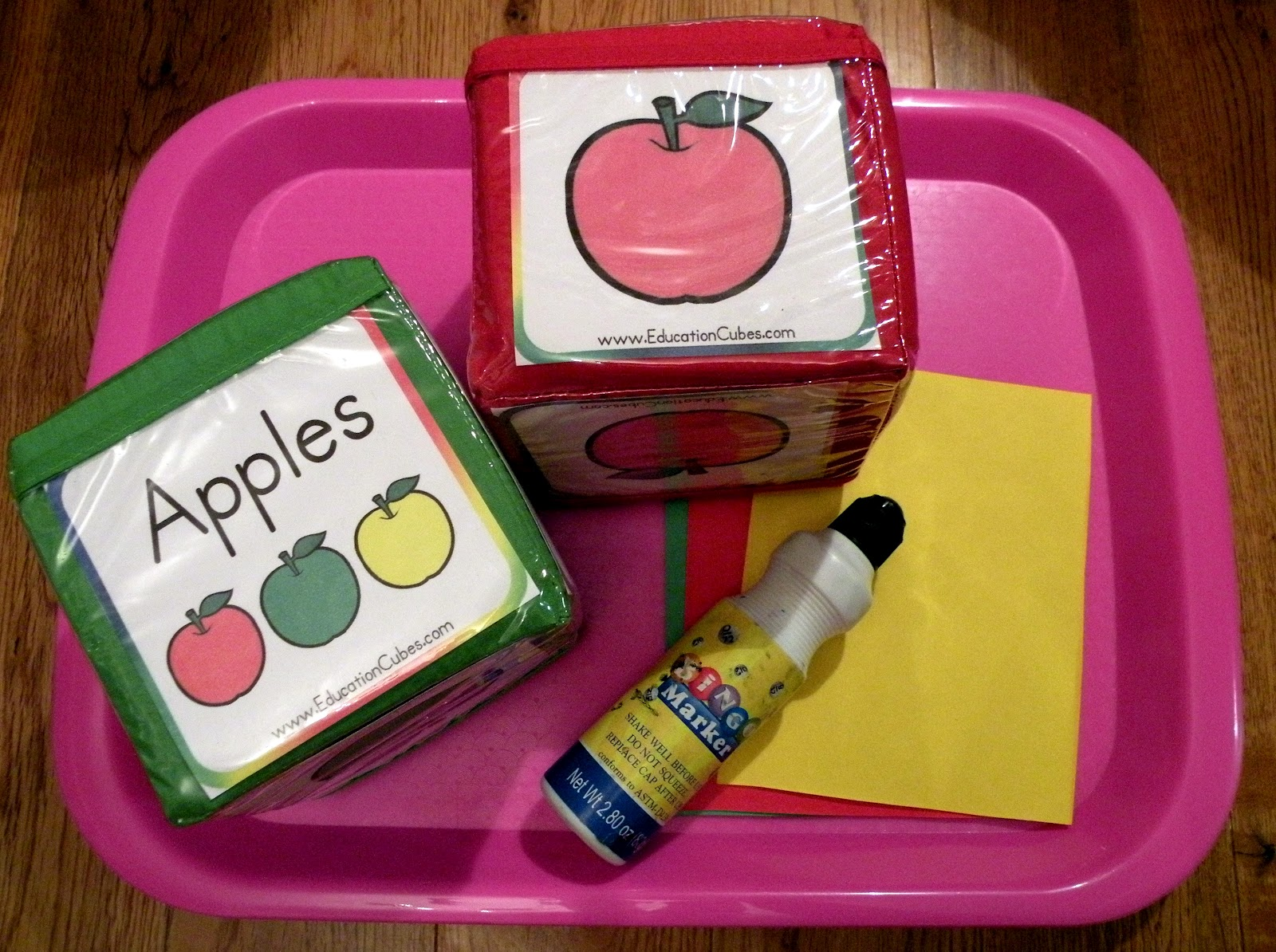 The Fantastic Five Apple Tot Trays And Explorer Box