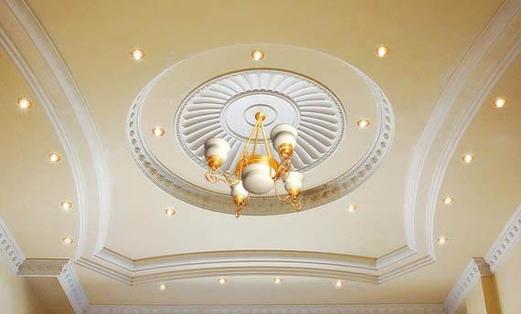 Model Lampu Plafon Ruang Tamu Mewah