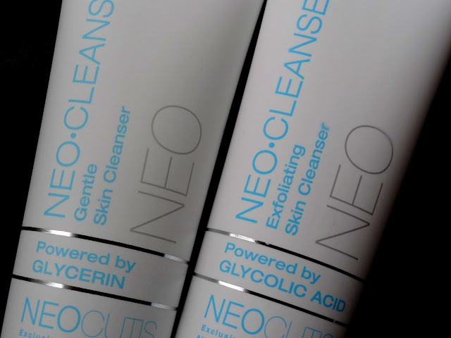 Neo.Cleanse Exfoliating Skin Cleanser and the Gentle Skin Cleanser