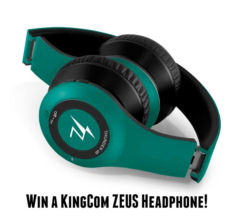 BLOG GIVEAWAY: Win a KingCom ZEUS Headphone from KingCom Philippines and PinoyAdventurista.com!