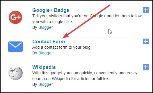 contact-form-gadget-in-blogspot
