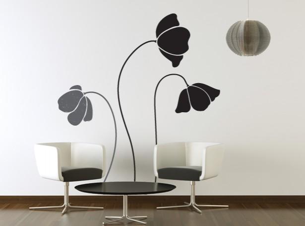 decoracao Adesivos de parede para fácil idéias de design de interiores