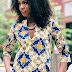 Trendy Ankara Gown Style
