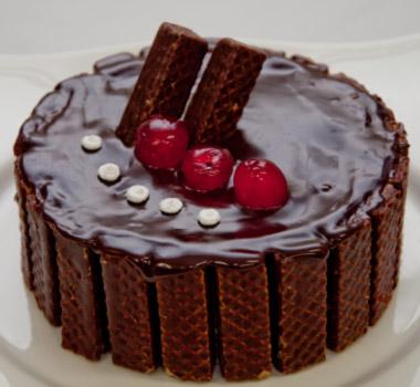 Receita de Torta de Musse de Brigadeiro