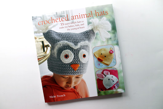 Book Review- Crocheted Animal Hats Book by Nicki Trench