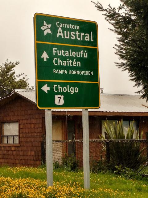 Carretera Austral, Chile
