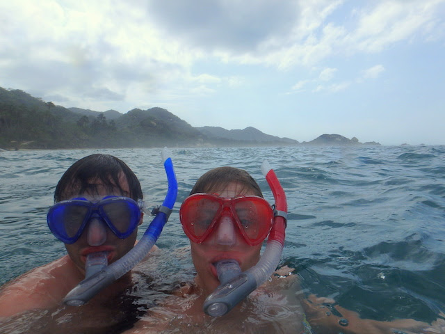 Snorkeling at La Piscina in Tayrona National Park, Colombia