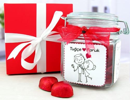 yılbaşı hediyesi çikolata