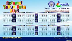 Download Kalender Dapodik Revisi Terbaru 2016 Lengkap Gratis jpg