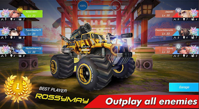 Download Game Overload: Multiplayer Battle Car Shooting Gratis update apk