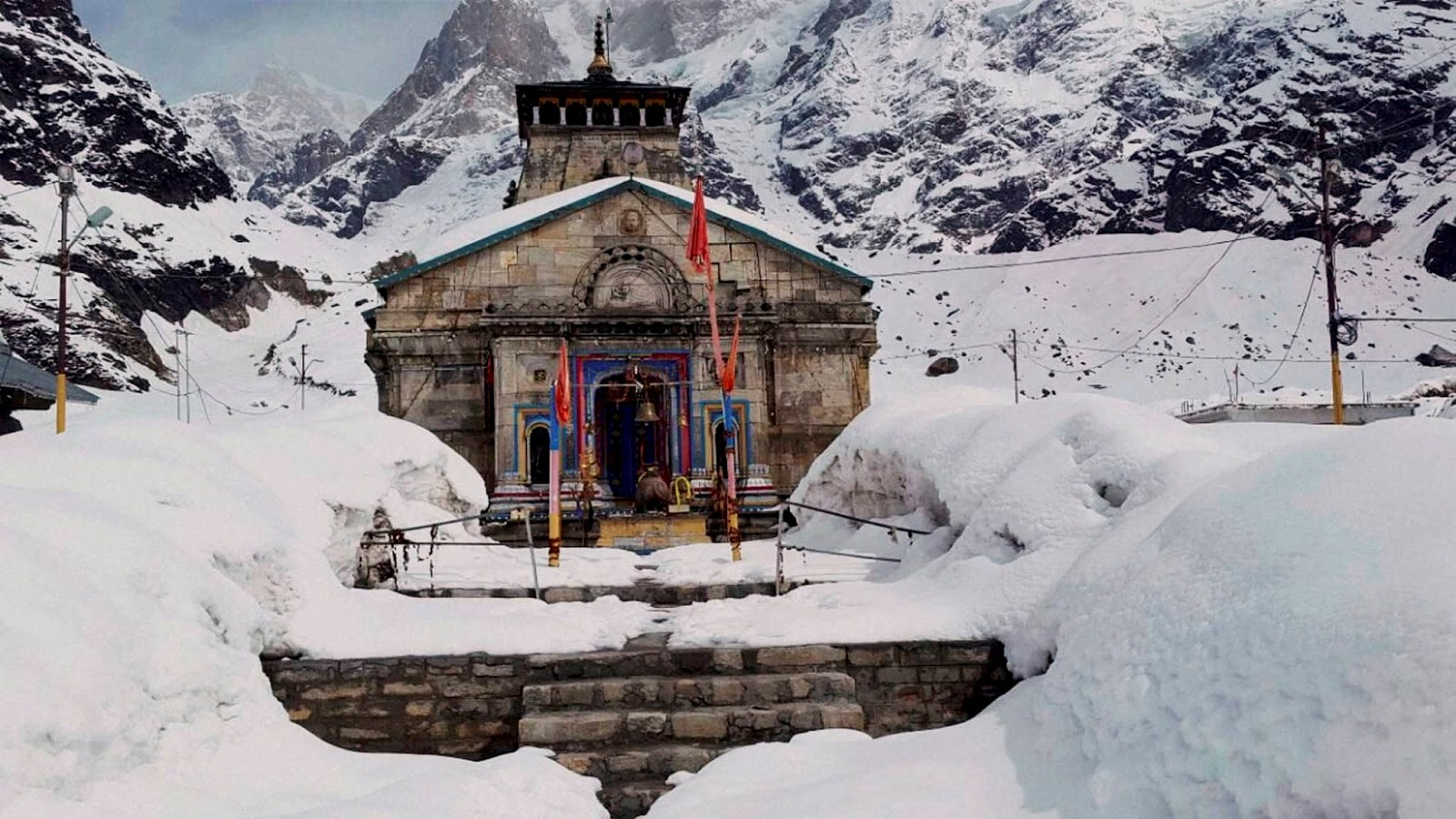 Trek to Kedarnath Temple at the Source of the Ganges