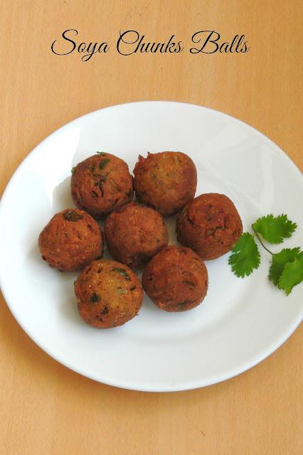 Soya Kola Urundai, Soya Chunks Balls.jpg