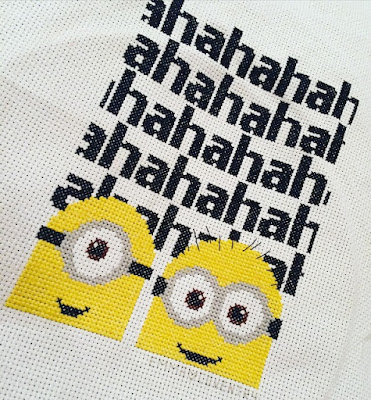 Minions Cross Stitch