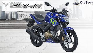 All New Vixion Warna Biru Movistar Livery MotoGP