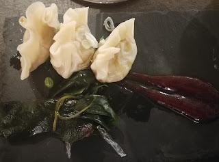 Meli del Tubo-ren untxiko gyozas