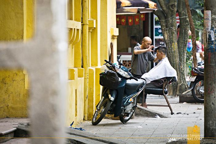 Hanoi Street Barbers