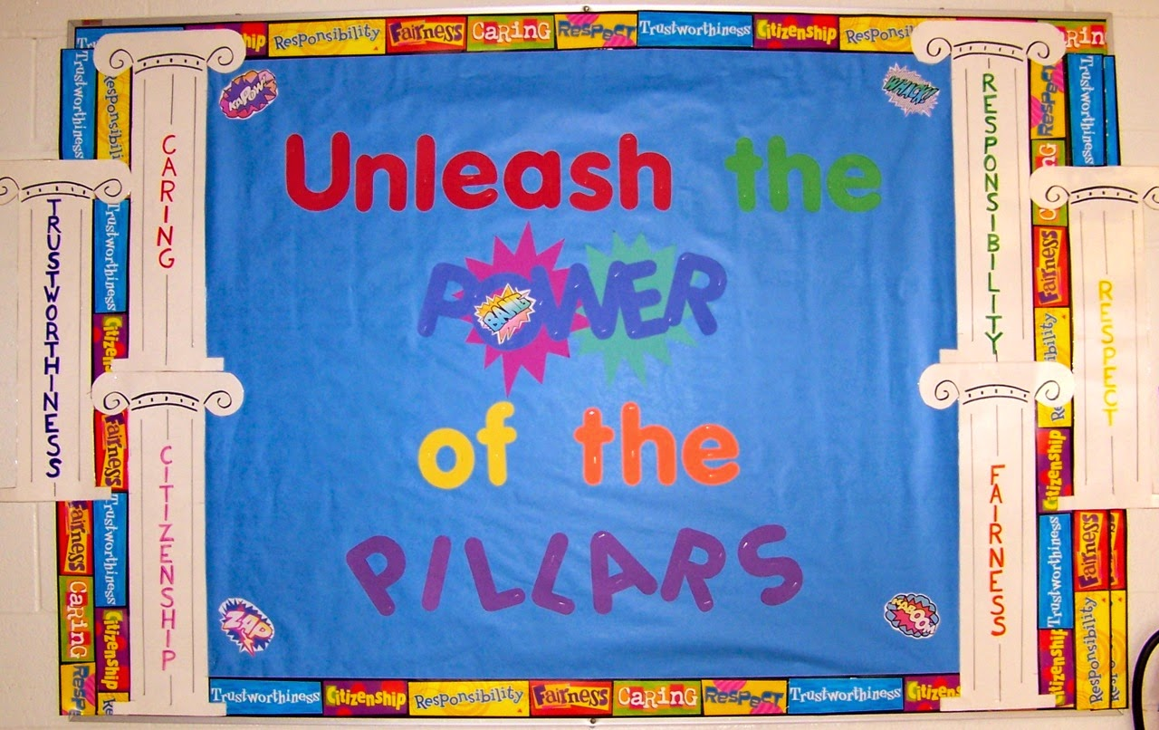 The Corner On Character B2s Bulletin Boards