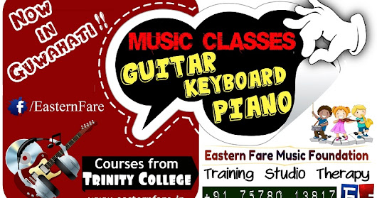 Bass Guitar classes in Guwahati ~ Eastern Fare Music Foundation | Music Classes in Bangalore