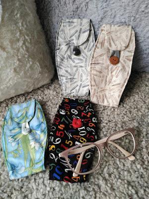 funda gafas, eyeglass case, étui à lunettes, costura, couture, sewing